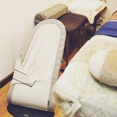 赤ちゃん用パウンサー・ベッド